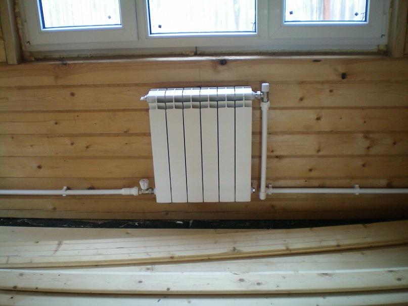 Установка радиаторов в частном доме своими руками 84