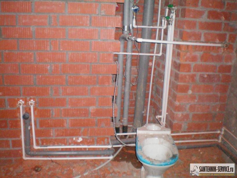 Водопровод в частном доме из полипропиленовых труб  155
