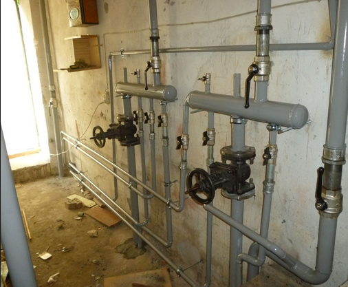 Праис замена труб отопления
